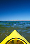 Mexico, Baja California Sur, Mulege, Bahia Concepcion, Kayaking