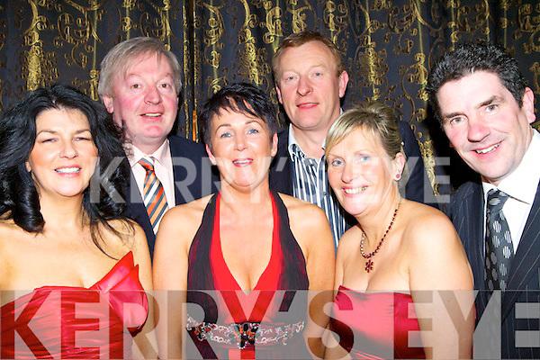 Enjoying the Duagh GAA social at The Devon Inn Templeglantine, on Saturday night were Margaret Horgan, Margaret O'Connor, Carmel Fitzgerald, Pius Horgan, Eamon Fitzgerald and Gerard O'Connor..