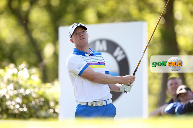 David Horsey (ENG) during Round One of the 2015 BMW PGA Championship over the West Course at Wentworth, Virginia Water, London. 21/05/2015Picture David Lloyd, www.golffile.ie.