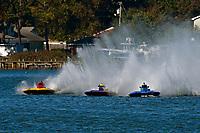 "J. P. Squires, S-83 ""Mega Bucks"", Grant Hearn, S-14 ""Legacy 2"", S-1 ""Windjammer""            (2.5 Litre Stock hydroplane(s)"