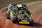 Feb 19, 2014; 6:45:07 PM;  Barberville, FL, USA;  Super DIRT car Series Big Block Modifieds presented by Summit Racing Equipment at Volusia Speedway Park.  Mandatory Credit: (thesportswire.net)
