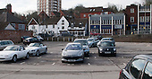 Town centre car park, Guildford, Surrey.