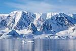 Glaciers & Mountains, Lemaire Channel, Antarctica