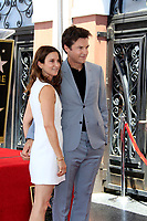 LOS ANGELES - July 26:  Amanda Anka, Jason Bateman at the Jason Bateman Hollywood Walk of Fame Star Ceremony at the Walk of Fame on July 26, 2017 in Hollywood, CA