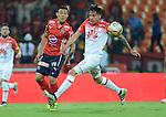 Independiente Santa Fe venció como visitante 2-1 a Independiente Medellín. Cuartos de final ida Liga Águila II-2016.