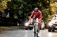 Mikkel Bjerg (DEN) becomes the U23 TT World Champion once again<br /> Men U23 Individual Time Trial<br /> <br /> 2019 Road World Championships Yorkshire (GBR)<br /> <br /> ©kramon