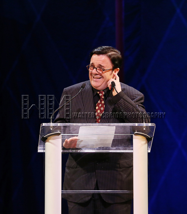 Nathan Lane during the 69th Annual Theatre World Awards Presentation at the Music Box Theatre in New York City on June 03, 2013.