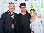 GoDaddy Bowl Welcome & Christmas Experience 2015. Toby Mac Meet and Greet.
