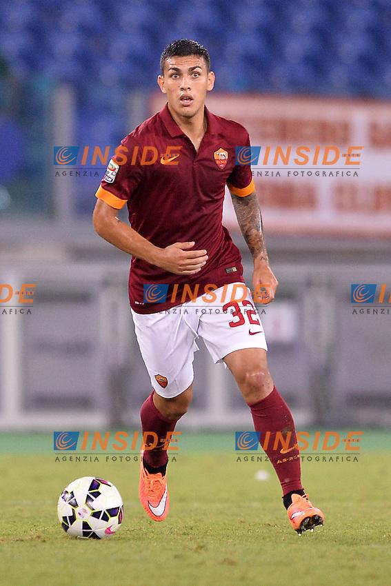 Leandro Paredes Roma.<br /> Roma 27-09-2014 Stadio Olimpico. Football Calcio 2014/2015 Serie A. AS Roma - Hellas Verona. Foto Antonietta Baldassarre / Insidefoto