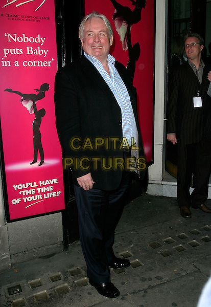 "CHRISTOPHER BIGGINS.At the World Premiere of  ""Dirty Dancing: The Classic Story On Stage"", Aldwych Theatre, London, England, .October 24th 2006..full length.Ref: AH.www.capitalpictures.com.sales@capitalpictures.com.©Adam Houghton/Capital Pictures."