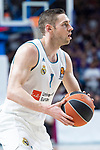 Real Madrid Fabien Causeur during Turkish Airlines Euroleague Quarter Finals 4th match between Real Madrid and Panathinaikos at Wizink Center in Madrid, Spain. April 27, 2018. (ALTERPHOTOS/Borja B.Hojas)