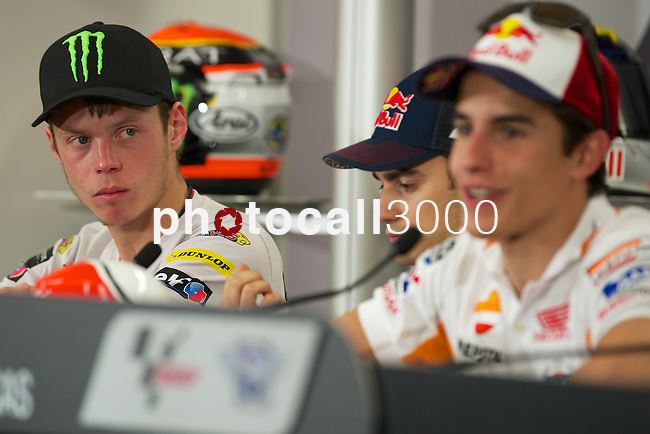 austin. tejas. USA. motociclismo<br /> GP in the circuit of the americas during the championship 2014<br /> 12-04-14<br /> En la imagen :<br /> Press conference<br /> <br /> photocall3000 / rme