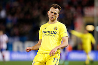 Cheryshev of Villarreal during La Liga match between Atletico de Madrid and Villarreal at Vicente Calderon stadium in Madrid, Spain. December 14, 2014. (ALTERPHOTOS/Caro Marin) /NortePhoto