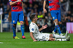 Lucas Vazquez  of Real Madrid during the match between Real Madrid vs Viktoria Plzen of UEFA Champions League, Group Stage, Group G, date 3, 2018-2019 season. Santiago Bernabeu Stadium. Madrid, Spain - 23 OCT 2018.