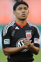 DC United midfielder Christian Castillo (12).  DC United defeated The Kansas City Wizards  2-0 at RFK Stadium, Wednesday  May 5, 2010.