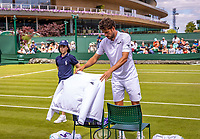 London, England, 1  st July, 2019, Tennis,  Wimbledon,  Robin Haase  (NED)<br /> Photo: Henk Koster/tennisimages.com