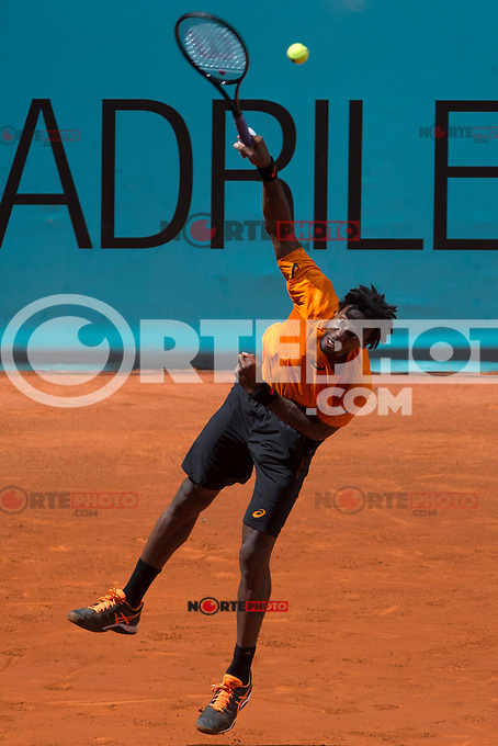 Gael Monfils during  Mutua Madrid Open Tennis 2017 at Caja Magica in Madrid, May 08, 2017. Spain. /NortePhoto.com