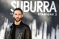 Jacopo Venturiero<br /> Rome February 20th 2019. Photocall for the presentation of the second season of the Netflix series Suburra at Casa del Cinema in Rome.<br /> Foto Samantha Zucchi Insidefoto