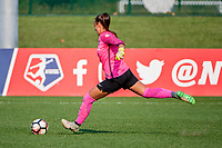Kansas City, MO - Sunday September 3, 2017: Kailen Sheridan during a regular season National Women's Soccer League (NWSL) match between FC Kansas City and Sky Blue FC at Children's Mercy Victory Field.
