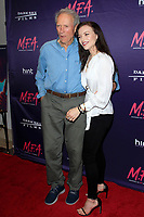"LOS ANGELES - OCT 2:  Clint Eastwood, Francesca Eastwood at the ""M.F.A."" Premiere at the The London West Hollywood on October 2, 2017 in West Hollywood, CA"