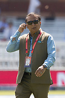 Sunil Gavaskar during Pakistan vs Bangladesh, ICC World Cup Cricket at Lord's Cricket Ground on 5th July 2019