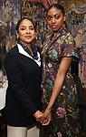 Phylicia Rashad and Condola Rashad attends the Sardi's portrait unveiling for Condola Rashad at Sardi's Restaurant on May 10, 2018 in New York City.
