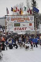 DeeDee Jonrowe Willow restart Iditarod 2008.
