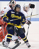 Jeff Velleca (Merrimack - 28), Mike Hewkin (Northeastern - 28) - The visiting Merrimack College Warriors defeated the Northeastern University Huskies 4-3 (OT) on Friday, February 4, 2011, at Matthews Arena in Boston, Massachusetts.