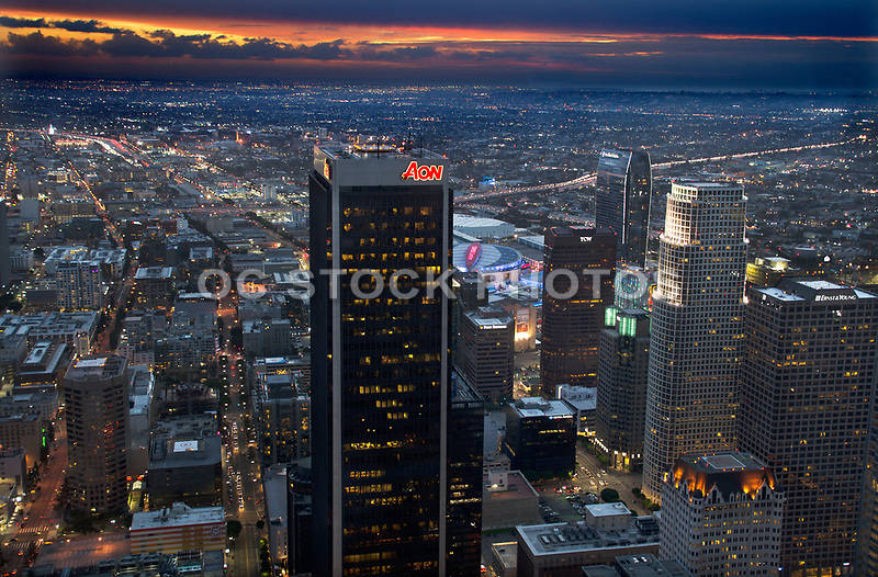 Los Angeles Skyline at Night