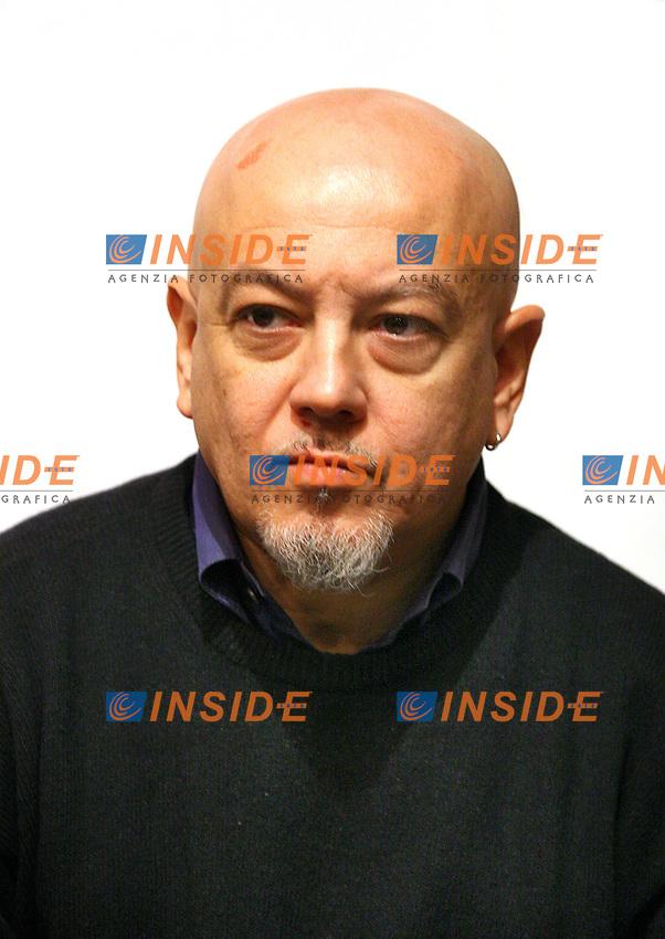 Roma 15-12-2006 Sede Partito Radicale. Conferenza stampa di avvio della campagna iscrizioni 2007 &quot;Per un 2007 di lotte e conquiste umane e civili&quot;. Nella foto Enrico Ruggeri.<br /> Photo Samantha Zucchi Inside (www.insidefoto.com)