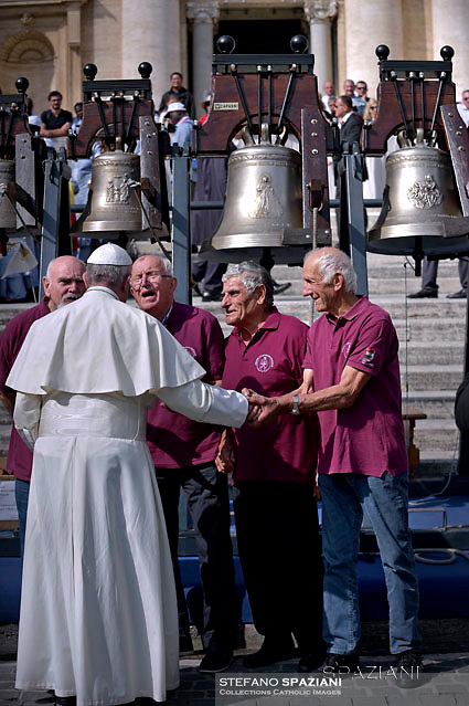 Pope Francis during of a weekly general audience at St Peter's square in Vatican. on September 28, 2016.