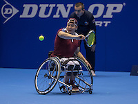 Rotterdam, Netherlands, December 13, 2016, Topsportcentrum, Lotto NK Tennis,  Wheelchair, Mitchel Graauw (NED)<br /> Photo: Tennisimages/Henk Koster