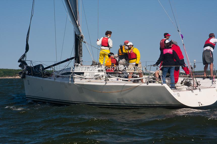 Texoma Sailing Club Lakefest Regatta 2011, 25th annual charity regatta at Lake Texoma, Denison, Texas.
