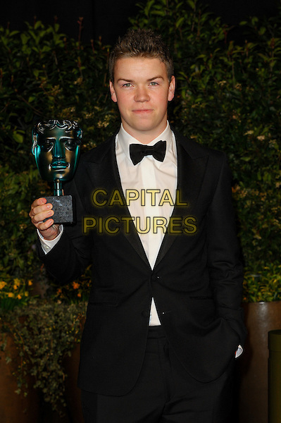 LONDON, ENGLAND - FEBRUARY 16: Will Poulter attends EE British Academy Film Awards afterparty at the Grosvenor Hotel on February 16, 2014 in London, England. <br /> CAP/CJ<br /> &copy;Chris Joseph/Capital Pictures