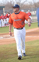 Brian Walker, Rogers Heritage High School baseball coach.<br />(NWA Democrat-Gazette/Flip Putthoff)