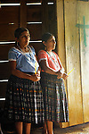 Dusk to dawn church ceremony prior to planting corn, in Mayan village of Blue Creek, Guatemala.