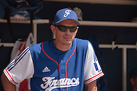 13 July 2010: Fabien Proust is seen during day 1 of the Open de Rouen, an international tournament with Team France, Team Saint Martin, Team All Star Elite, at Stade Pierre Rolland, in Rouen, France.