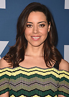 PASADENA, CA - JANUARY 5:  Aubrey Plaza at the 2018 FX Networks Winter TCA Star Walk at The Langham Huntington Hotel and Spa on January 5, 2018 in Pasadena, California. (Photo by Scott Kirkland/FX/PictureGroup)