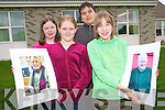 Pupils at Tahilla National School have spent the last few months putting together a local exhibition including images of the areas local residents which they shot themselves as well as a written documentation of their memories. .Back L-R Shauna O'Shea and Patrick Letanneur.Front L-R Abigail Kelly and Lydia Stait