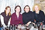 Caroline Cronin, Stella Moloney, Chlodagh Sertutxa and Paula Ni? Bhriain competing in the Killtala NS table quiz in the Fishery bar, Killorglin on Thursday night.   Copyright Kerry's Eye 2008