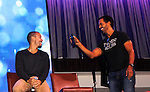 Joyce Becker's Soap Opera Festival brings actors from Young and Restless - Kristoff St. John & Bryton James on September 26, 2015 to Caesers Horseshoe Casino in Baltimore, Maryland for a Q&A with fans with a drawing for lucky fans to meet the actors for autographs and photos.  (Photo by Sue Coflin/Max Photos)
