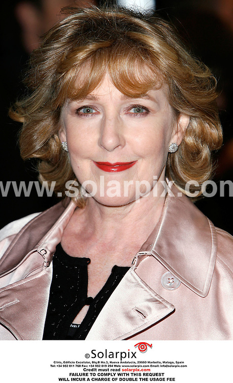 ALL ROUND PICTURES BY SOLARPIX.COM. .Patricia Hodge arrives for the premiere of The History Boys at the Odeon in Leicester Square, London.  JOB REF:2867 - PRS..MUST CREDIT SOLARPIX.COM OR DOUBLE FEE WILL BE CHARGED.....