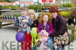 Enjoying the BALLYSEEDY Home and Gardens annual Family Fun Weekend in aid of Down Syndrome Kerry were Eddie O'Connell, Chris Lenihan, Rebecca O'Connell and Tina Lenihan from Listowel
