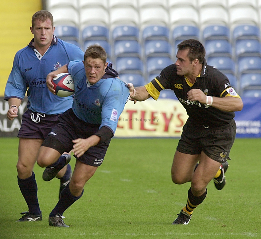 Photo:Ken Brown.3.9.2000 Wasps v Bristol, Zurich Premiership.David Rees.