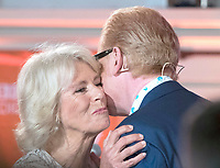 16 June 2017 - London, England - Camilla Duchess of Cornwall and Chris Evans. Live broadcast of the finale of BBC Radio 2's 500 Words creative writing competition held at the Tower of London. Photo Credit: Alpha Press/AdMedia