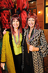 Brenda Mitchell and Janice Hurst at the Mardi Gras Ball at the Tremont House in Galveston Saturday Feb. 13,2010.(Dave Rossman Photo)