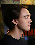 "Collin Kelly-Sordelet attends the ""The Ferryman"" cast change photo call on January 17, 2019 at the Sardi's in New York City."