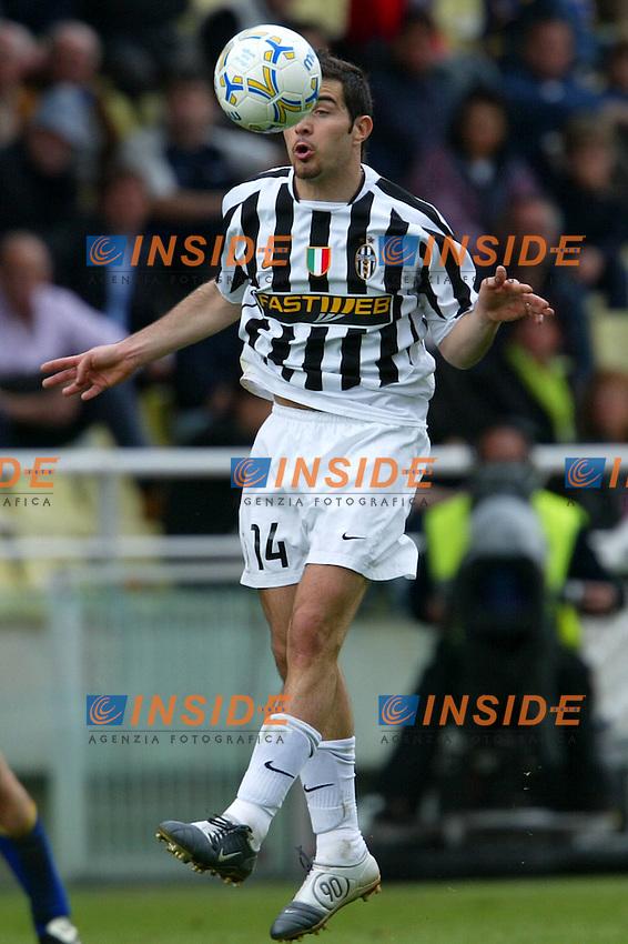 Parma 18/4/2004 Campionato Italiano Serie A <br /> 30a Giornata - Matchday 30 <br /> Parma Juventus 2-2 <br /> Enzo Maresca (Juventus)<br />  Foto Insidefoto