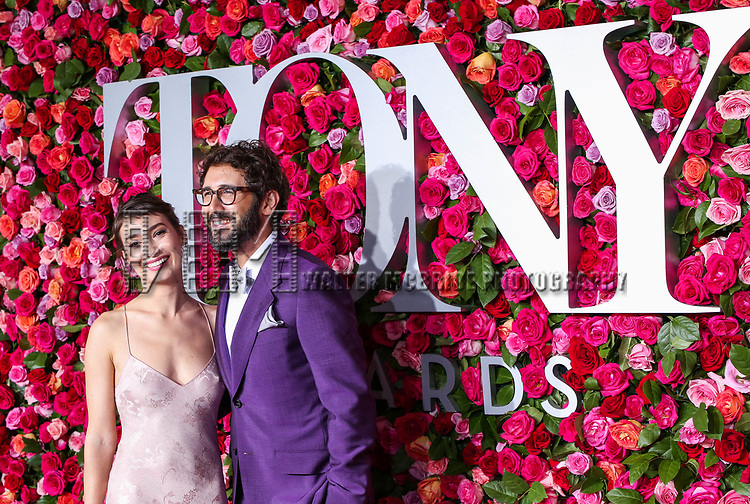 NEW YORK, NY - JUNE 10:  Schuyler Helford and Josh Groban attend the 72nd Annual Tony Awards at Radio City Music Hall on June 10, 2018 in New York City.  (Photo by Walter McBride/WireImage)
