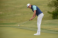 Aaron Baddeley (AUS) watches his putt on 10 during Round 2 of the Valero Texas Open, AT&amp;T Oaks Course, TPC San Antonio, San Antonio, Texas, USA. 4/20/2018.<br /> Picture: Golffile | Ken Murray<br /> <br /> <br /> All photo usage must carry mandatory copyright credit (&copy; Golffile | Ken Murray)
